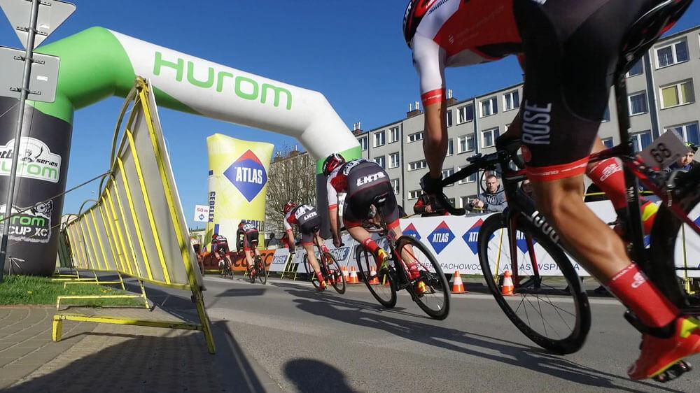 Firma Hurom sponsorem wyścigu Hubala