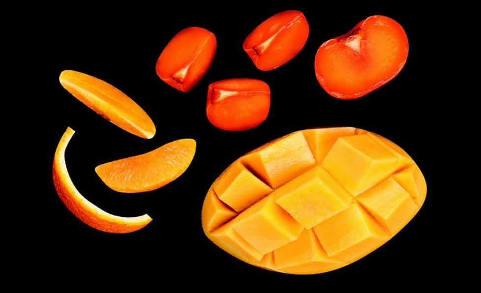 Pogromcy kaca - persymona, mango i gruszka