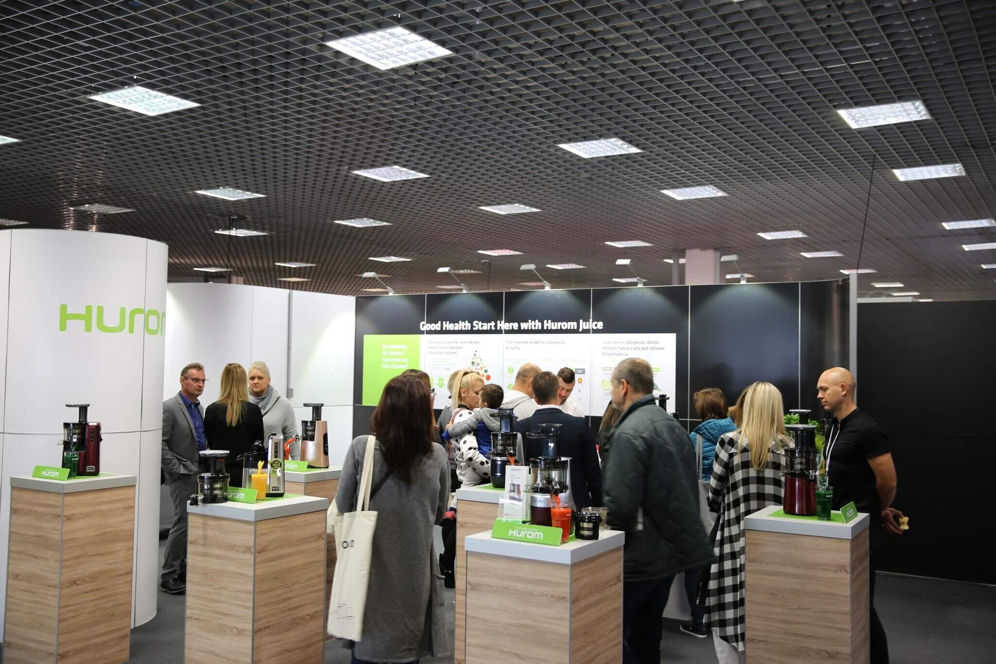 Hurom Polska na targach Warsaw Home Expo 2017 !