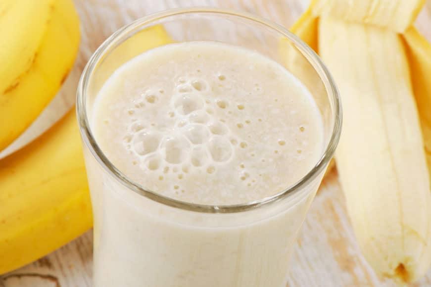 Mleko bananowe z wyciskarki Hurom !