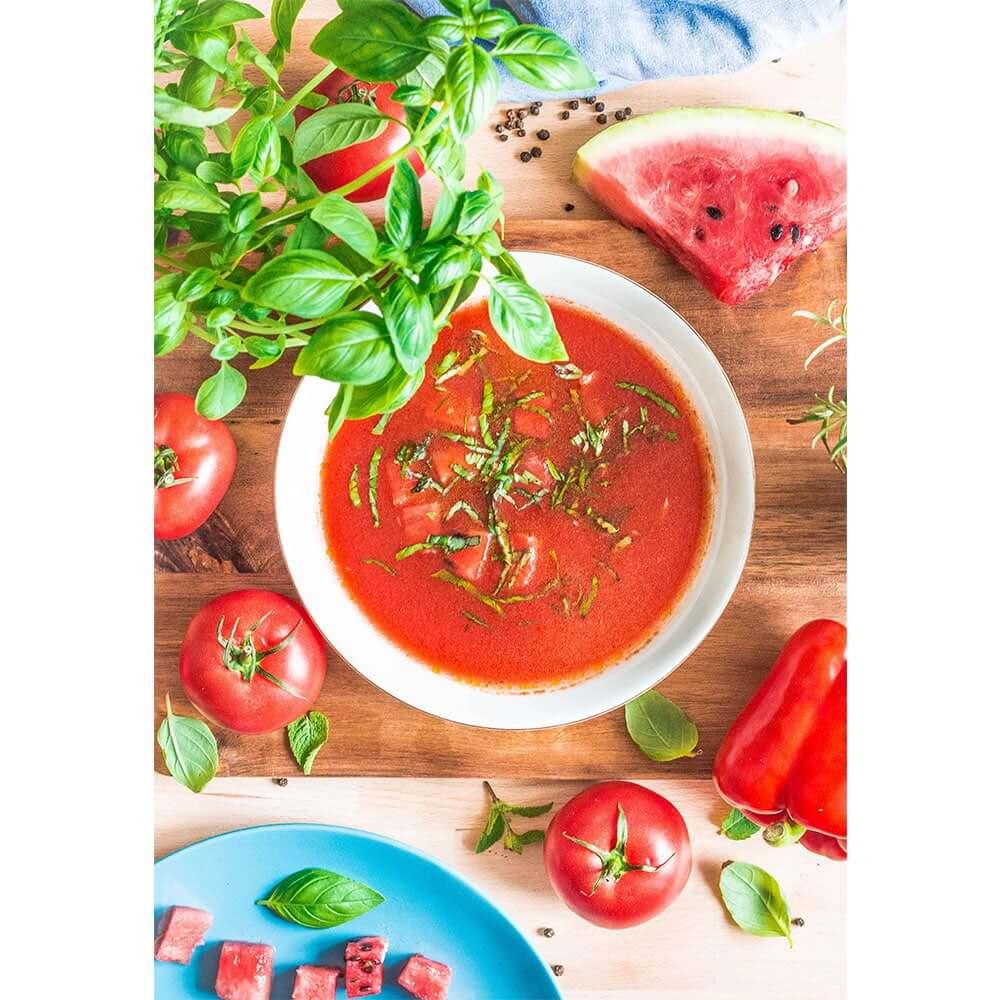 Przepis na Gazpacho pomidorowo-arbuzowe