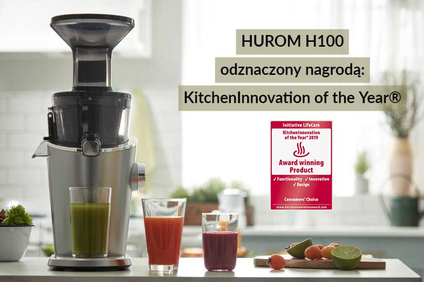 HUROM H100 odznaczony nagrodą KitchenInnovation of the Year®