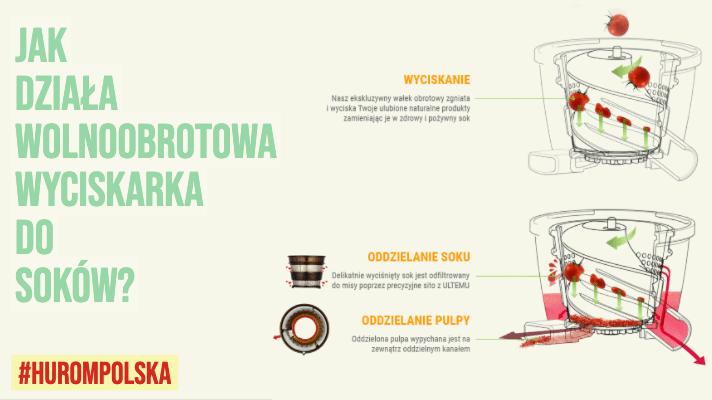 Jak działa wolnoobrotowa wyciskarka do soków?
