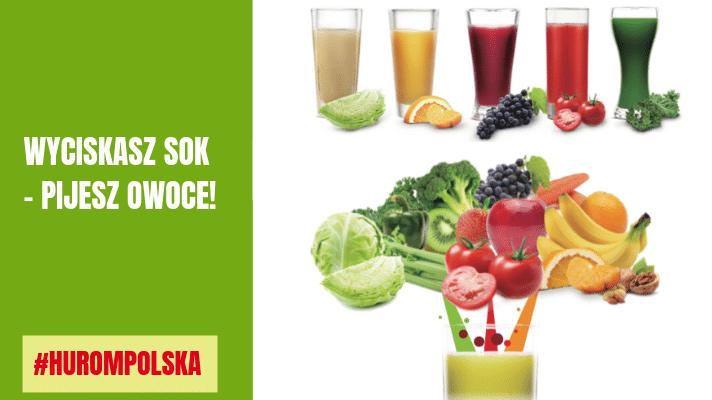 Z czego zrobić sok i jak używać wyciskarki wolnoobrotowej?