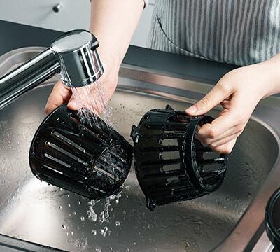 wolnoobrotowa wyciskarka do soków Hurom easy h100 mycie w 5 sekund