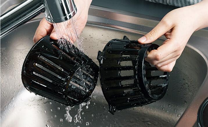 wolnoobrotowa wyciskarka do soków Hurom easy h100 łatwe mycie