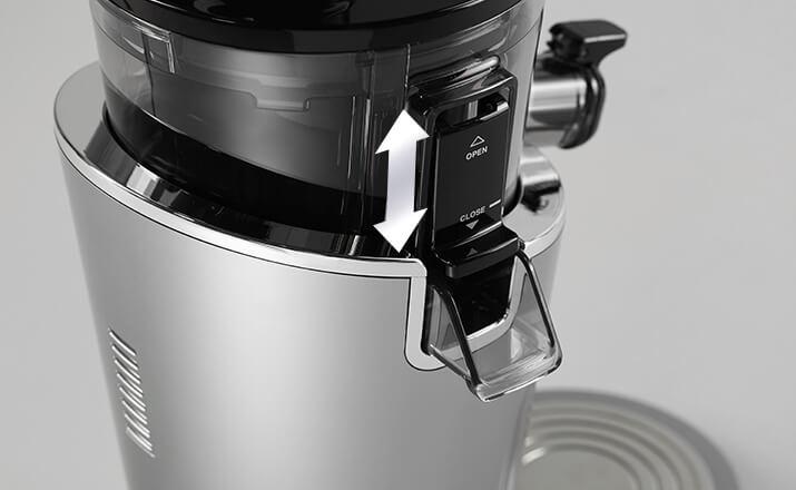 wolnoobrotowa wyciskarka do soków Hurom H100 innowacyjny niekapek